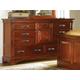 A-America Kalispell Dresser in Rustic Mahogany KALRM5500 CODE:UNIV20 for 20% Off