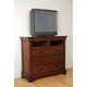 A-America Kalispell TV Chest in Rustic Mahogany KALRM5740