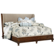 Fine Furniture Harbor Springs King Upholstery Shelter Bed in Port 1370-KUSB
