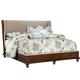 Fine Furniture Harbor Springs Queen Upholstery Shelter Bed in Port 1370-QUSB