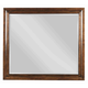 Kincaid Elise Solid Wood Bristow Mirror in Amaretto 77-114