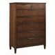 Kincaid Elise Solid Wood Aiden Chest in Amaretto 77-105