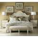 Fine Furniture Summer Home Platform Bedroom Set in Shell 1051