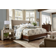 Fine Furniture Harbor Springs 4 Piece Upholstery Shelter Bedroom Set in Port