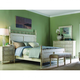Fine Furniture Summer Home Panel Bedroom Set in Shell 1051