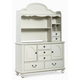 Legacy Classic Kids Inspirations Door Dresser with Hutch in Morning Mist 3830 PROMO