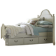 Legacy Classic Kids Inspirations Twin Westport Low Poster Bed w/ Underbed Storage Drawers (Both Sides) in Morning Mist 3830