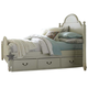 Legacy Classic Kids Inspirations Full Westport Low Poster Bed w/ Underbed Storage Drawer (Both Sides) in Morning Mist 3830