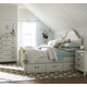 Legacy Classic Kids Inspirations Westport Low Poster Bed w/ Underbed Storage Drawers in Morning Mist