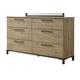 Dexfield Dresser in Beige Brown B298-21