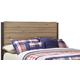 Dexfield Full Panel Headboard Bed in Beige Brown B298