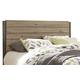 Dexfield Queen Panel Headboard Bed in Beige Brown B298