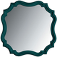 Stanley Coastal Living Retreat Piecrust Mirror in Belize Teal 411-43-30