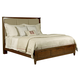 Kincaid Elise Solid Wood Spectrum King Storage Bed in Amaretto