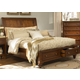A-America Reedsport King Panel Storage Bed in Java RDTJV5131 CLEARANCE