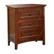 A-America Westlake Nightstand in Brown Cherry WSLCB5750