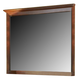 A-America Westlake Master Mirror in Brown Cherry WSLCB5560