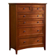 A-America Westlake Chest in Brown Cherry WSLCB5600