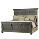 Pulaski Kentshire Queen Panel Bed in Black CLEARANCE