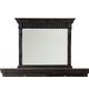 Pulaski Kentshire Mirror in Black 210110
