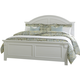 Liberty Furniture Summer House Full Panel Bed in Oyster White 607-BRF