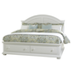Liberty Furniture Summer House King with Storage Panel Bed in Oyster White 607-BRKS