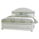 Liberty Furniture Summer House Queen with Storage Panel Bed in Oyster White 607-BRQS