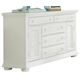 Liberty Furniture Summer House 5 Drawer Dresser in Oyster White 607-BR32