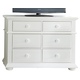 Liberty Furniture Summer House Media Chest in Oyster White 607-BR45