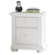 Liberty Furniture Summer House 2 Drawer Nightstand in Oyster White 607-BR60