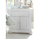 Liberty Furniture Summer House 1 Drawer Nightstand in Oyster White 607-BR61