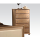 Acme Furniture Aria 5 Drawer Chest in Natural Oak 22466
