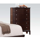 Acme Furniture Efraim 5 Drawer Chest in Espresso 24306