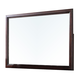 Acme Furniture Efraim Landscape Mirror in Espresso 24304