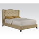 Acme Furniture Faye Eastern King Bed in Beige 20647EK