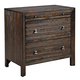 Kincaid Montreat Groovy Bedside Chest in Graphite 84-142