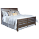 Kincaid Montreat Rake Queen Sleigh Bed in Graphite 84-150P