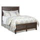Kincaid Montreat Borders King Panel Bed in Graphite 84-131P