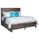 Kincaid Montreat Borders Queen Panel Storage Bed in Graphite