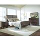 Kincaid Montreat Rake Sleigh Bedroom Set in Graphite