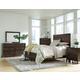 Kincaid Montreat Borders Panel Bedroom Set in Graphite