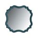 Stanley Coastal Living Retreat Piecrust Mirror in English Blue 411-53-30 CLOSEOUT