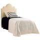 Stanley Coastal Living Retreat Twin Breach Inlet Headboard Bed in Irish White Herringbone 411-A3-151 CLOSEOUT