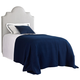 Stanley Coastal Living Retreat Twin Breach Inlet Headboard Bed in Heron Grey Honeycomb 411-C3-151