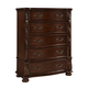 Fairfax Home Furnishings Verona 5-Drawer Chest in Warm Cherry 5870-07