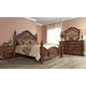 Fairfax Home Furnishings Verona Poster Bedroom Set in Warm Cherry