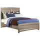 All-American Evolution Queen Panel Bed in Driftwood Oak