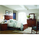 Kincaid Homecoming Winchester Panel Bedroom Set in Vintage Cherry