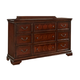 Fairfax Home Furnishings Waverly Place Drawer Dresser in Rich Cherry 9350-40