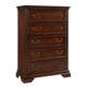 Fairfax Home Furnishings Waverly Place 5-Drawer Chest in Rich Cherry 9350-30